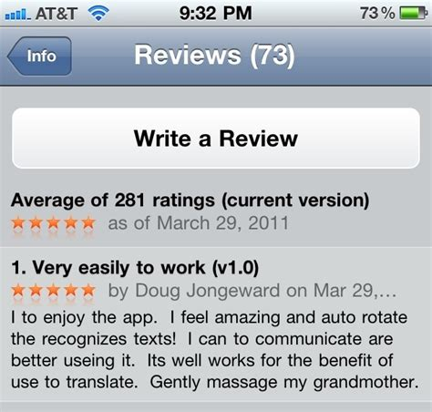 App Review Translation App Review Pineapple Donut