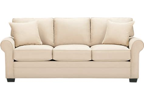 cindy crawford couch cindy crawford home bellingham vanilla sofa sofas beige