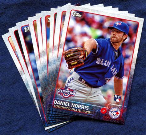Baseball Gift Card - 2015 topps opening day toronto blue jays baseball cards team set