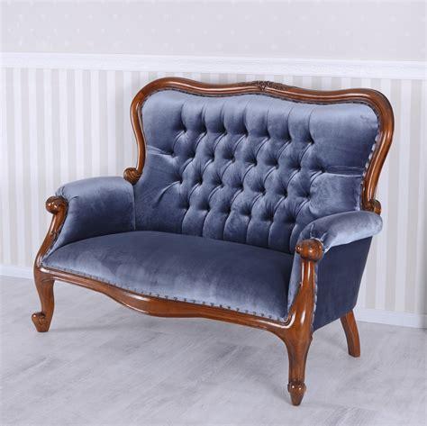 Sofa Antik sofa kanapee antik samt mahagoni sitzbank vintage