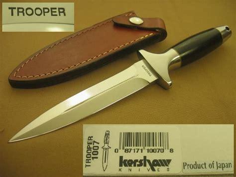kershaw trooper knife kershaw trooper dagger mib