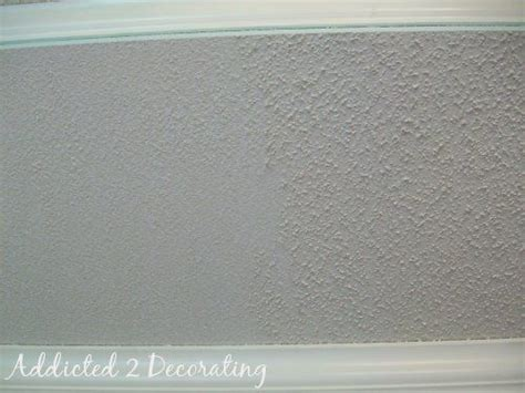 Easy Textured Ceiling by J A Master Bedroom And The Easy Way To Scrape Heavy