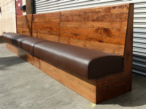 Wood Banquette Seating forward thinking furniture starbucks banquette seating