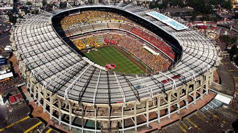 imágenes estadio azteca estadios azteca azul y cu ya pueden recibir eventos as usa