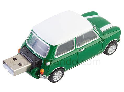 White Stripes On Usb by Usb Mini Cooper Flash Drive Green With White Stripes