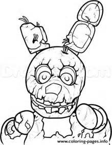 fnaf coloring pages freddy 3 nights at freddys five five nights at freddys fnaf