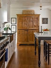 kitchen armoire houzz