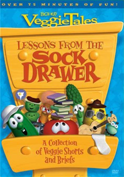 Veggie Tales Lesson From The Sock Drawer by Veggietales Lessons From The Sock Drawer Dvd At Christian