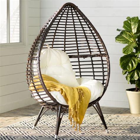 brayden studio mcanally teardrop chair patio chairs