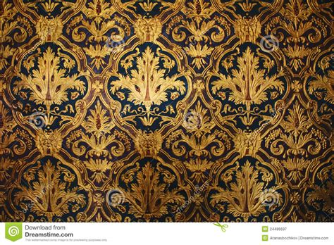 black and gold victorian wallpaper golden victorian wallpaper royalty free stock photography