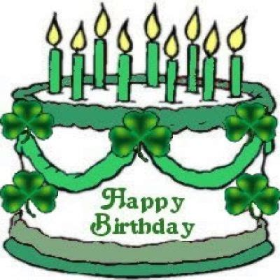 happy birthday on st s day clip cake clipart st patricks day