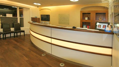Corporate Reception Desk Bespoke Corporate Furniture Salcey Cabinet Makers Northton