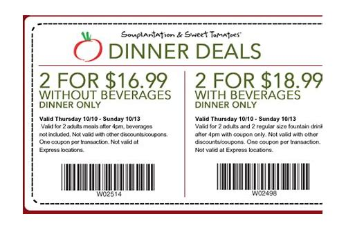 sweet tomatoes coupons february 2018