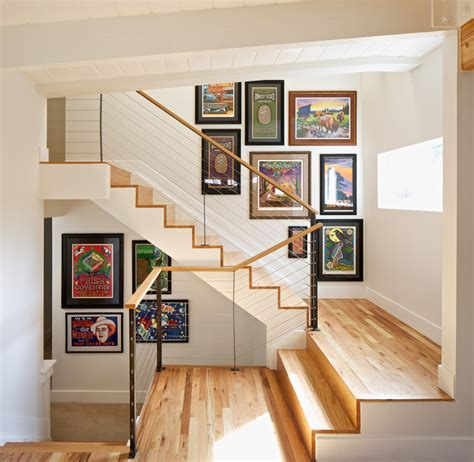 Eclectic Interiors by Mid Century Modern Residence Modern Staircase Denver