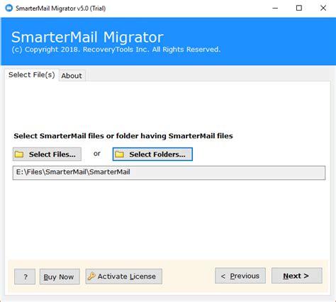 migrate smartermail   server  server