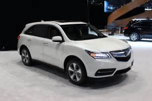Acura Mdz 2016 Acura Mdx Gets Nine Speed Auto Available Electronic