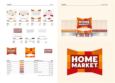 home design brand brand design pour home market