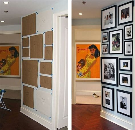 picture gallery wall template useful ideas and layouts to create a photo gallery wall
