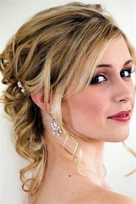 partial updos for older women with medium length hair half up wedding hairstyles half updo for brides