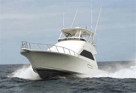 boating magazine reviews cabo 48 flybridge a bigger bang boating magazine review