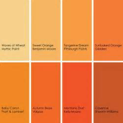 colors that make orange orange color palette trend orange colors