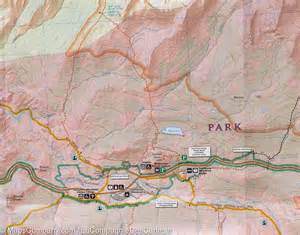 trail map of yosemite national park ne tuolumne