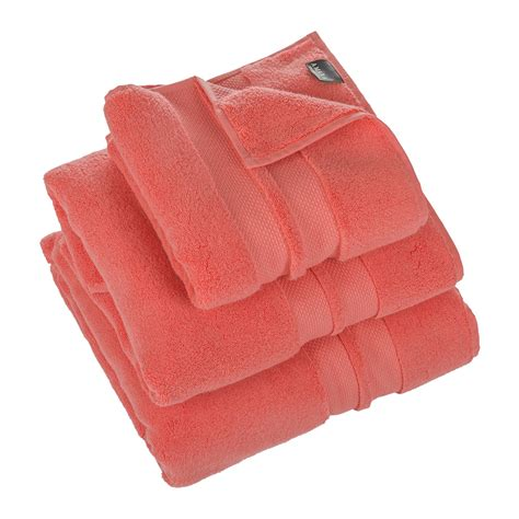 bath towels buy a by amara soft cotton 700gsm towel coral