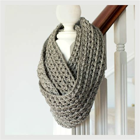 pinterest pattern for infinity scarf basic chunky infinity scarf pattern knit and crochet