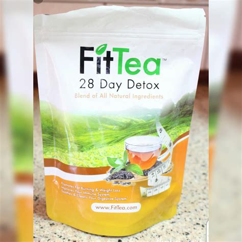 Detox Tea F by Fit Tea 28 Day Tea Detox 28 Bags Price From Jadopado In