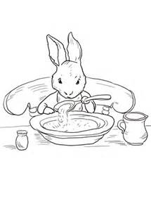 peter rabbit  home coloring page super coloring