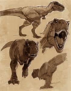 tyrannosaurus sketches vanoxymore deviantart