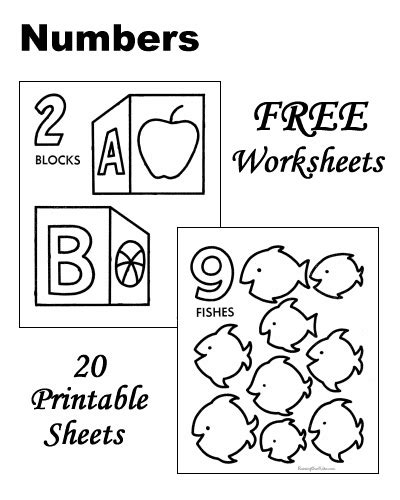 printable games for learning numbers number worksheets toddlers preschool and kindergarten