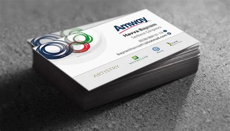 Amway Business Card Template by Amway Business Cards On Behance