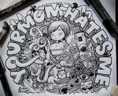 geometric doodle ideas kawaii doodles artopia