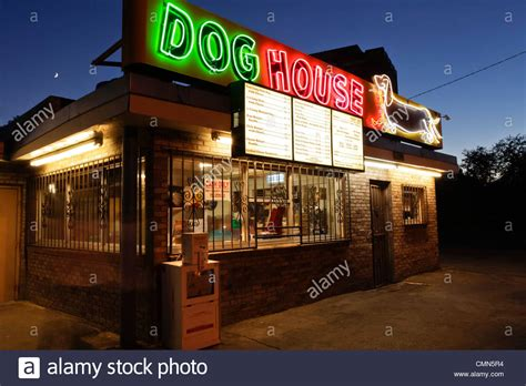 dog house albuquerque albuquerque new mexico united states route 66 dog house hot dog stock photo