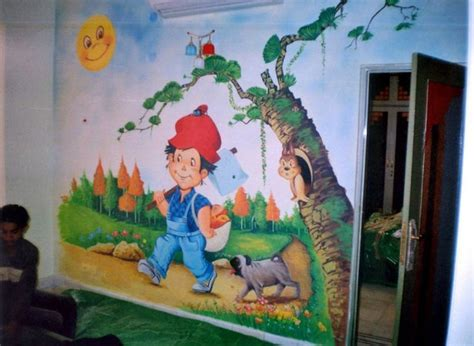 painting for kids room cartoon wall painting for kids room cartoon wall