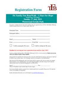 race registration template race registration form template pictures to pin on