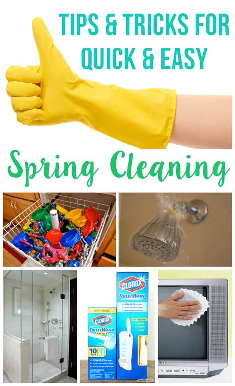 spring cleaning tips and tricks clever spring cleaning tips hacks happiness is homemade