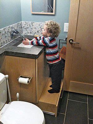 lower bathroom cabinet drawer a step stool it slides