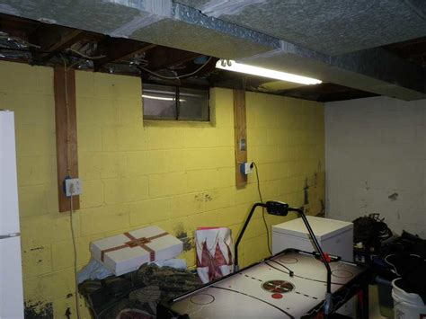 basement systems nj quality 1st basements basement waterproofing photo album frigid basement insulated in