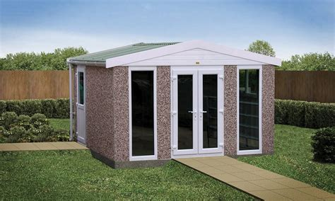 Room Sheds by Sectional Concrete Garden Rooms Buildings Lidget Compton