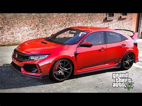 gta 5 new 2018 honda civic type r 1000hp vs exotic cars