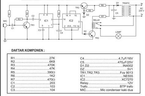 Saklar Tepuk elektronika analog dan digital