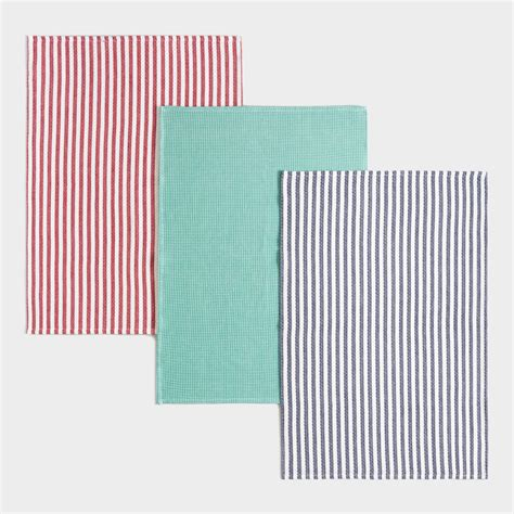 Waffle Weave Kitchen Towels by Waffle Weave Kitchen Towels Set Of 3 Ebay