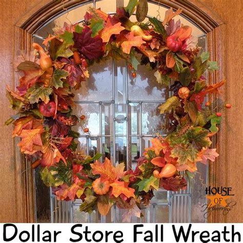 Diy Fall Wreaths Design Ideas 5 Easy Diy Dollar Fall Wreaths Mami Does It All