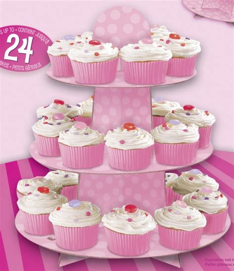 etagere muffins rosa muffin etagere
