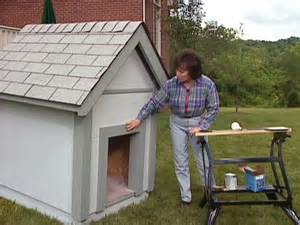 diy channel how to build a doghouse how tos diy