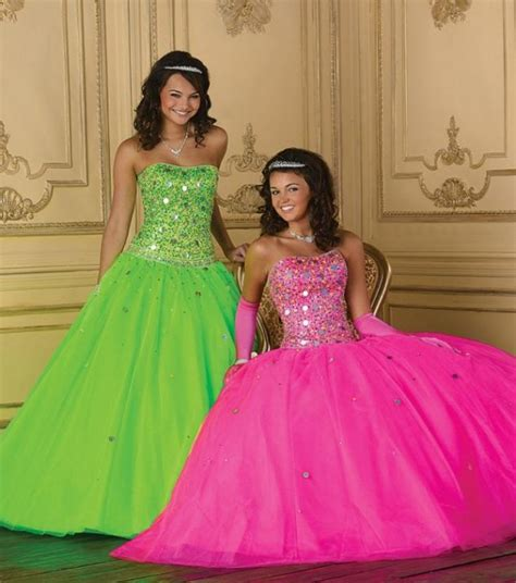 quinceanera neon themes quinceanera dresses that flatter your skintone