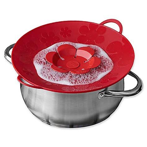 Penutup Panci Spill Stopper Boiling kuhn rikon large spill stopper in bed bath beyond