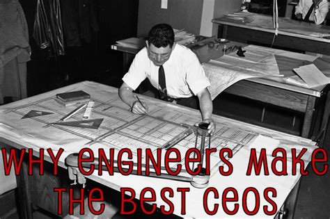 Ceos That Don T Mba by Why Engineers Make The Best Ceos Infographic Revpart